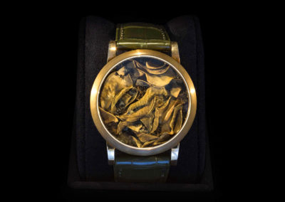 Bronze Case & Leaves - CHF 5'000