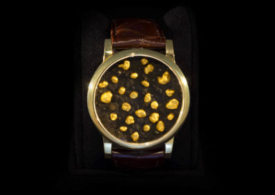 Gold Case & Gold Nuggets - CHF 11'000