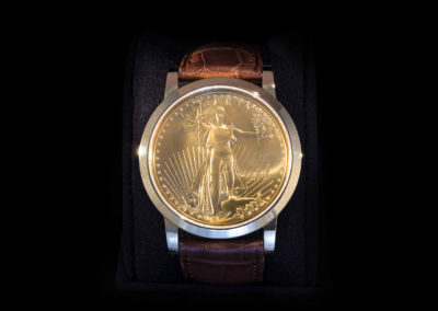 Gold Case & Liberty Ounce - CHF 12'000